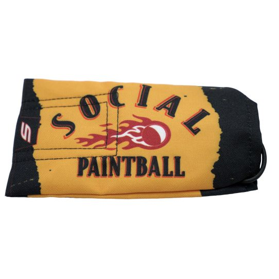 social paintball barrel cover social fireball