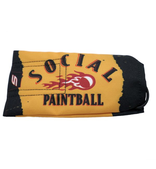 social paintball barrel cover social fireball