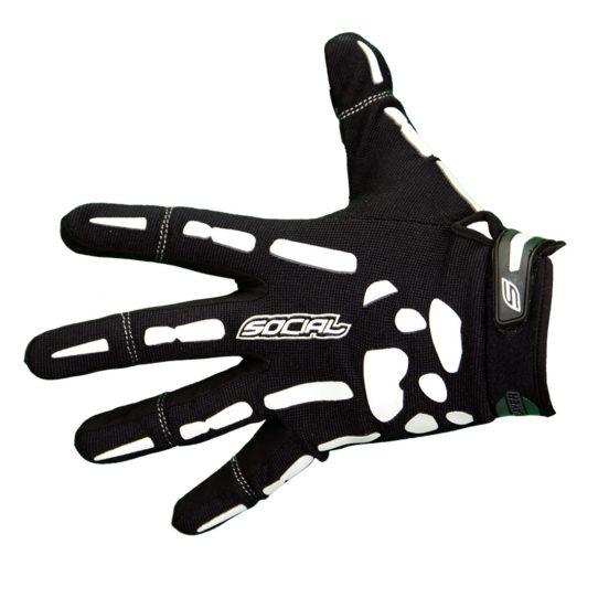 social paintball bones gloves