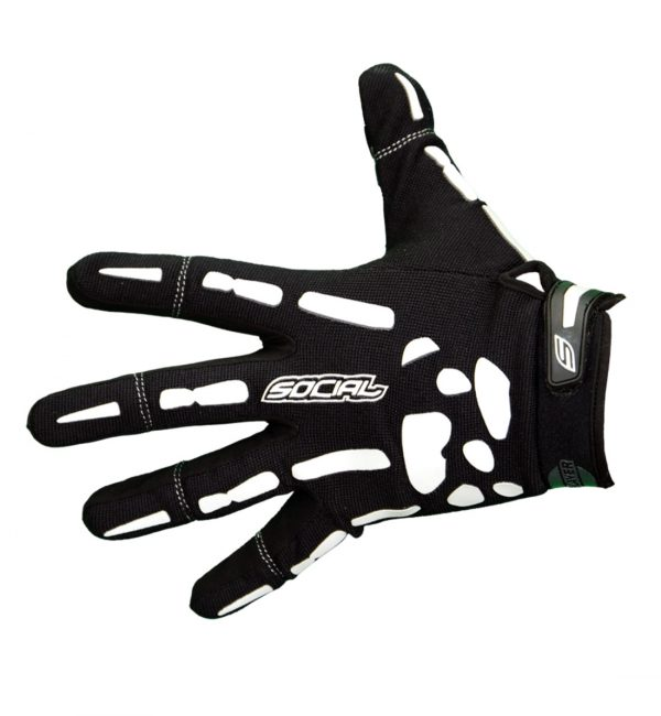 social paintball bones gloves