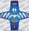 SMPL Social Paintball Jersey Candyland Blue