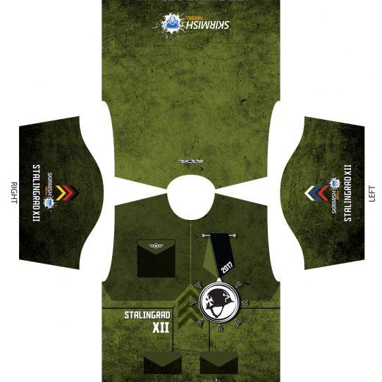 2017 Skirmish Stalingrad XII Custom Paintball Shirt