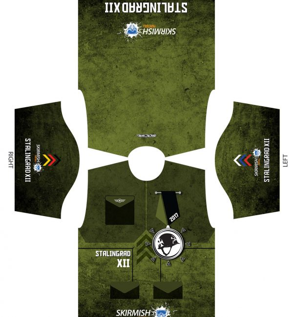 2017 Skirmish Stalingrad XII Custom Paintball Shirt