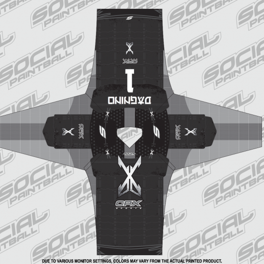 CPX Sports Living Legends 10 Event Custom Paintball Jersey