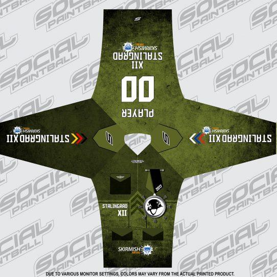 2017 Skirmish Stalingrad XII Custom Paintball Jersey