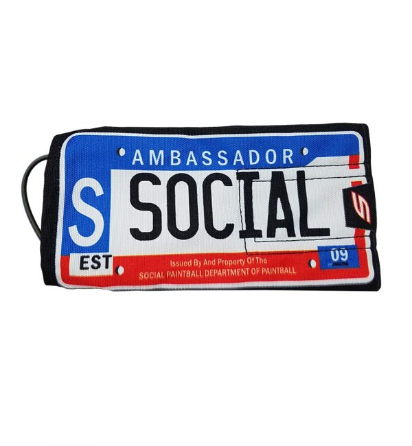 social paintball barrel cover ambassador