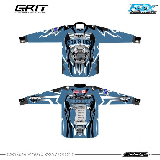 Foxs Den Custom Jersey Flex Full Padded