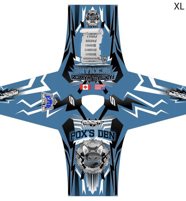 Foxs Den Custom Jersey SMPL Unpadded