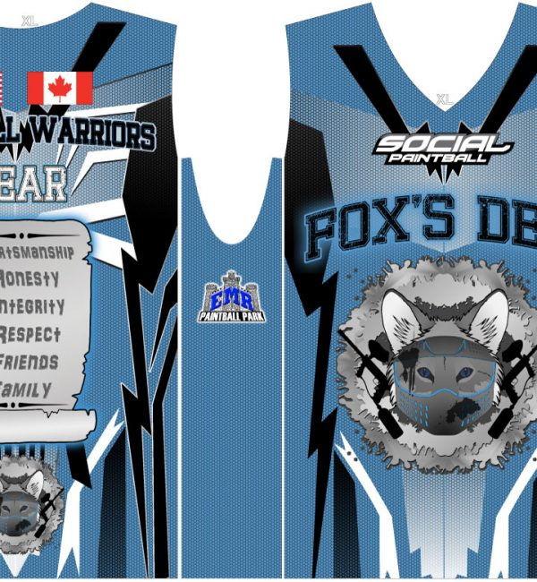 Foxs Den Custom Sleevless Jersey