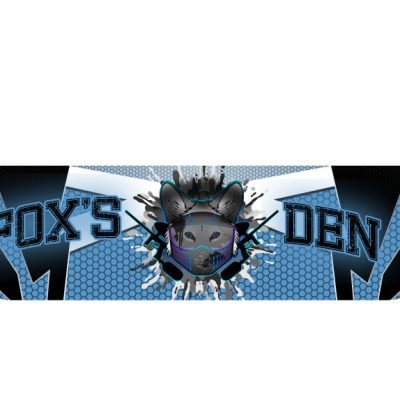 Fox's Den Headband, Blue