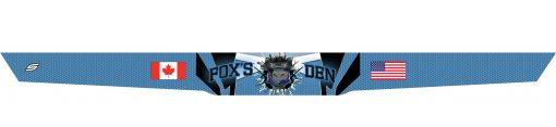 Fox's Den Headband, Blue