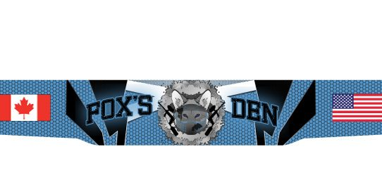 Foxs Den Paintball Headband