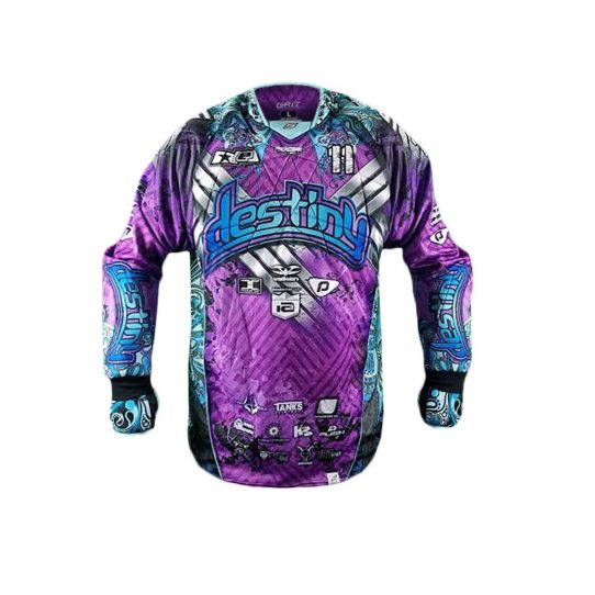 Destiny Paintball Jersey Front