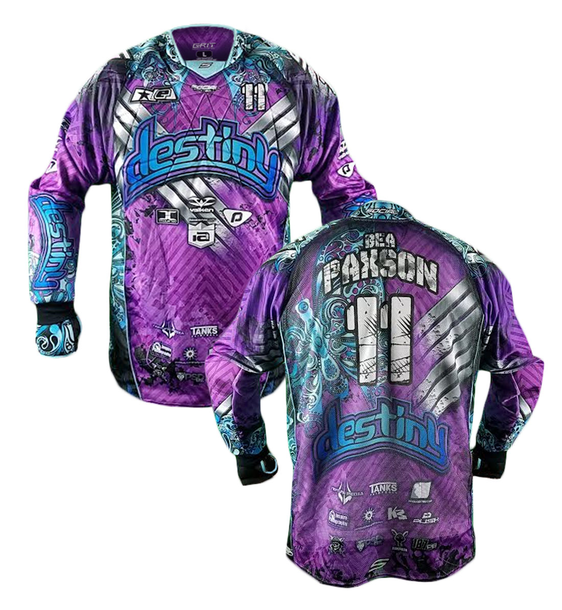 Design my own paintball jersey