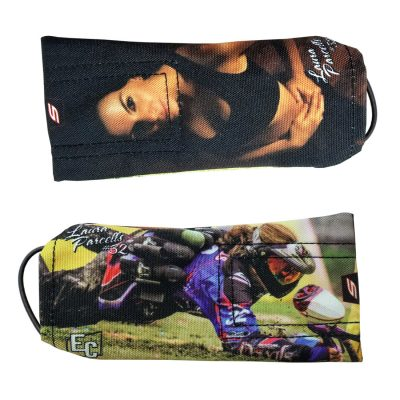 girls of paintball barrel cover Laura Parcells
