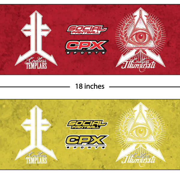 CPX Sports Endless Legends custom armbands