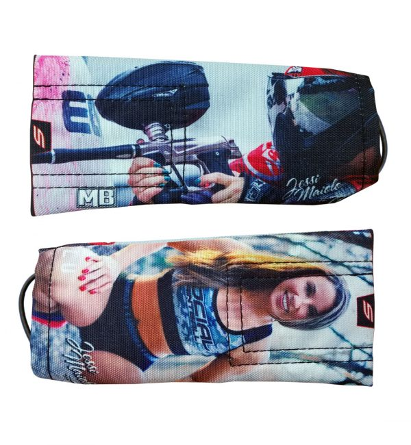 Jessi Maiolo paintball barrel cover 2
