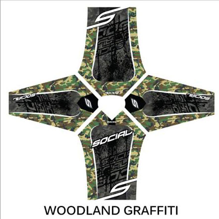 Custom Paintball Jersey Design Social Paintball