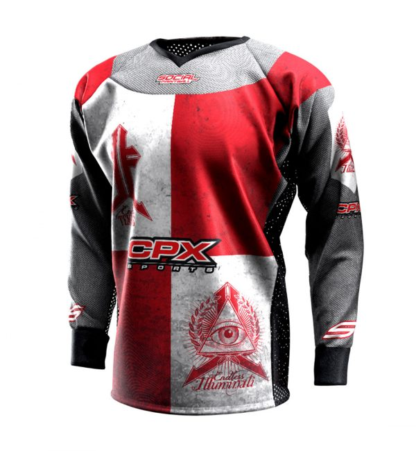CPX Sports Endless Legends 1 Event Custom Paintball Jersey Front