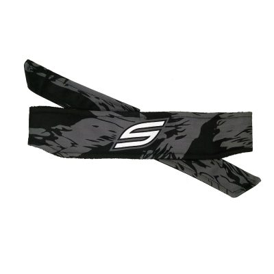 Social Paintball Headband dark woods tiger