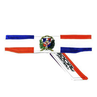 dominican republic flag paintball Headband
