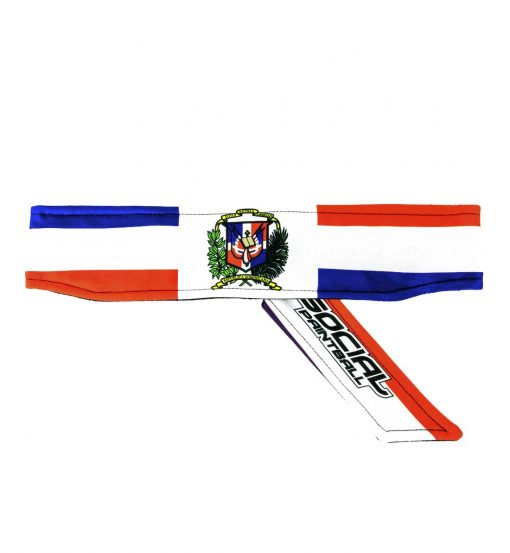 dominican republic flag paintball Headband