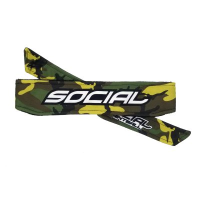 Woodland Camo Paintball Headband
