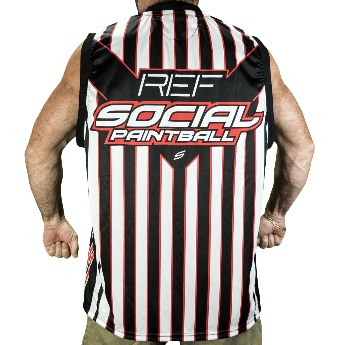 4884b8678 Grit Sleeveless Jersey, Field Ref - Social Paintball