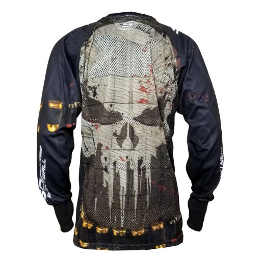 Punisher - Frank Castle, Unpadded SMPL Paintball Jersey Back