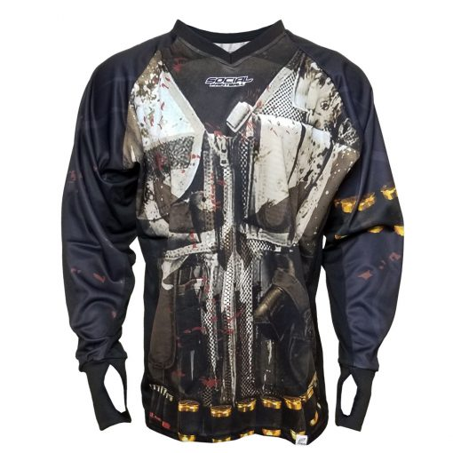 Punisher - Frank Castle, Unpadded SMPL Paintball Jersey Front