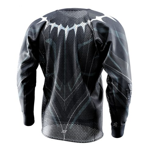 Black Panther - King T'Challa, Unpadded SMPL Paintball Jersey Back
