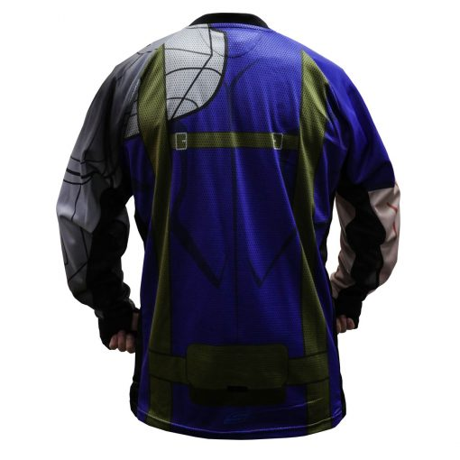 Cable, Unpadded SMPL Paintball Jersey Back