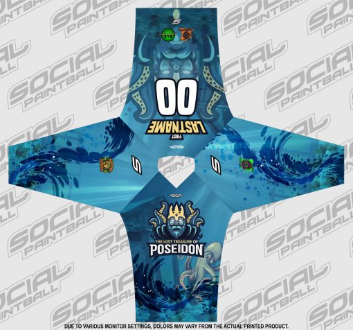 2019 Lost Treasure of Poseidon Event SMPL Jersey Flat