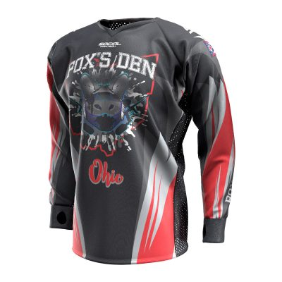 Fox's Den Unpadded SMPL Jersey, Ohio Fury Front