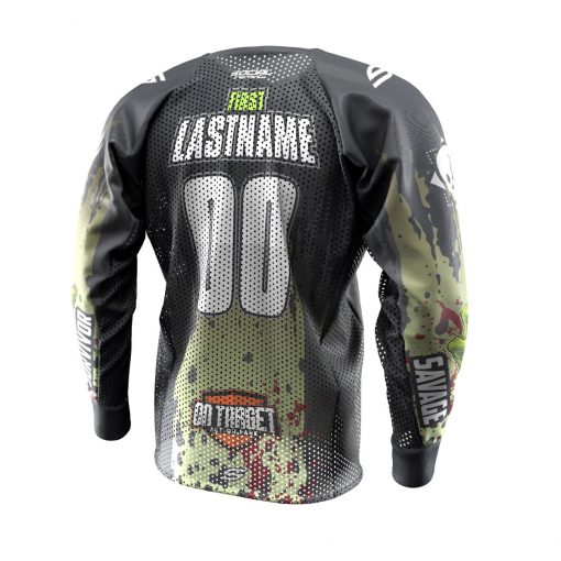 2019 Living Dead 6 Custom Event SMPL Jersey Back