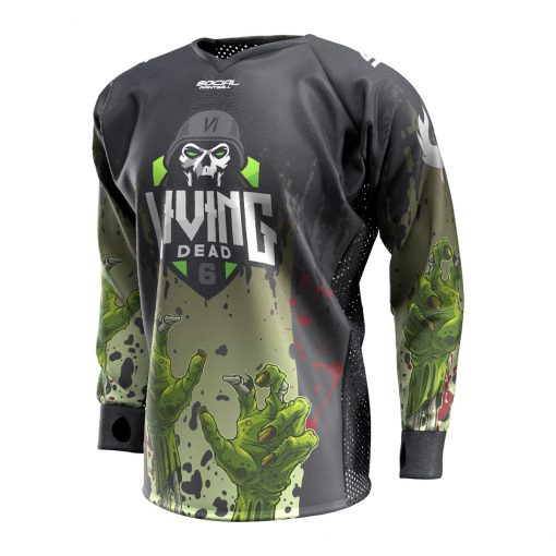 2019 Living Dead 6 Custom Event SMPL Jersey Front