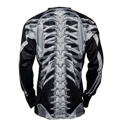 Social Paintball SMPL Jersey, Skeleton Bones Back