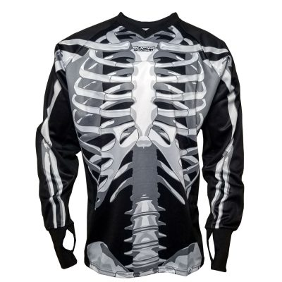 Social Paintball SMPL Jersey, Skeleton Bones Front