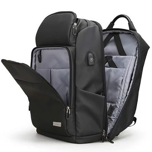 Social Paintball TRVL Backpack, 30L Travel Bag Open View