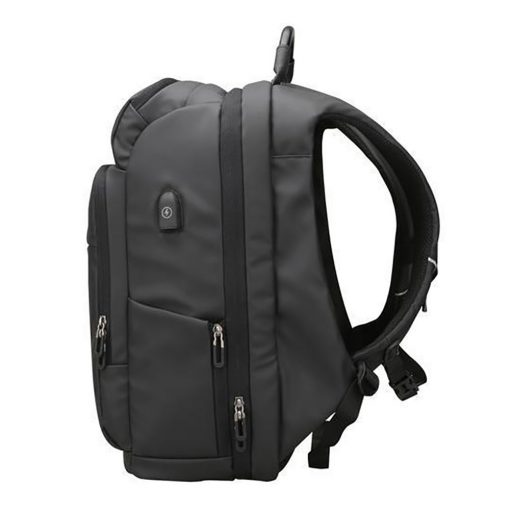 Social Paintball TRVL Backpack, 30L Travel Bag Side View