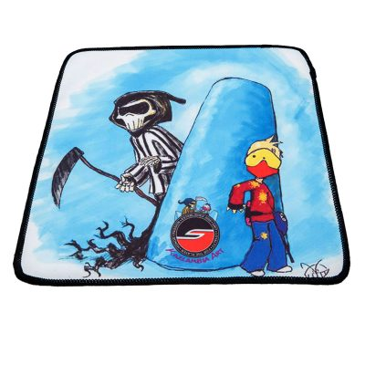 Microfiber Cleaning Cloth, Reaper, Paintball Cartoon Series