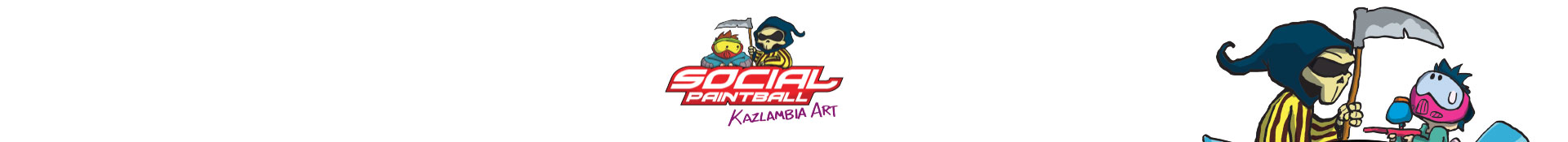 Kazlambia Art Paintball Cartoon by Social Paintball