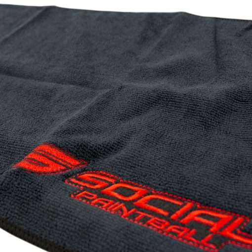 Social Paintball Microfiber Cleaning Cloth, Black Logo Zoom