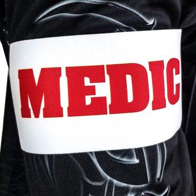 Social Paintball Team Armband, Medic