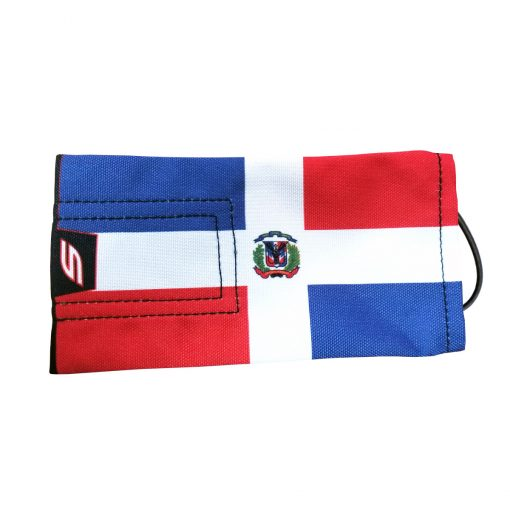 Social Paintball Barrel Cover, Dominican Republic Flag
