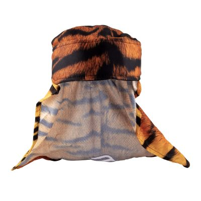 Social Paintball Headwrap, Orange Tiger
