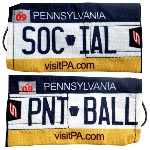 Social Paintball Barrel Cover, Pennsylvania License Plate