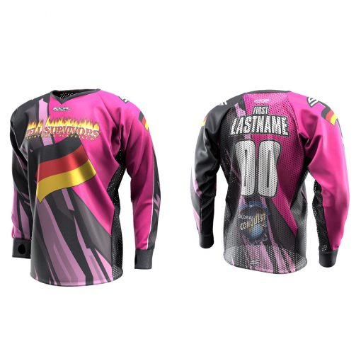 2020 Global Conquest Custom Event SMPL Jersey Germany Pink