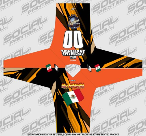 2020 Global Conquest Custom Event SMPL Jersey Mexico Orange
