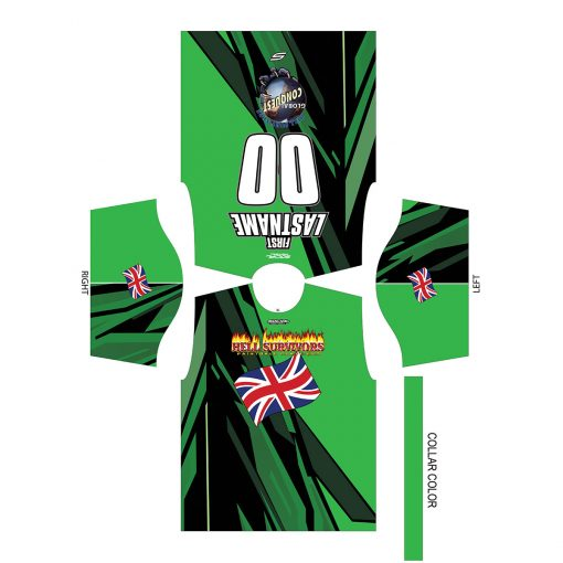2020 Global Conquest Event Shirt England Green